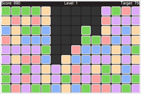 Rainbow Blocks HTML5网页游戏